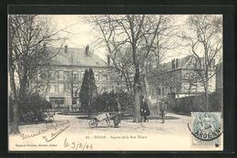 CPA Sedan, Square De La Rue Thiers - Sedan
