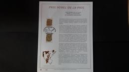 Belgique 1999 : FEUILLET D'ART EN OR 23 CARATS.Timbre Numéro 2838/39 - Belgium