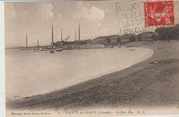 C. P. A.-  POINTE DE GRAVE - LE PORT BLOC - 8 - MALCEL DELBOY - M. D. - France