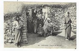 CPA - Tunisie - Carthage - Gourbi De Nomades - Tunesië