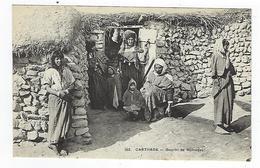 CPA - Tunisie - Carthage - Gourbi De Nomades - Tunisia