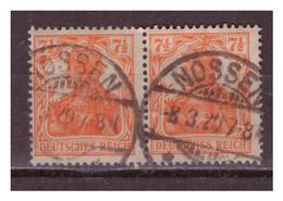 DR:  Nr. 99 B, Paar, Gestempelt - Deutschland