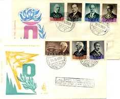 1959 SAN MARINO FDC Dirigenti Comitato Olimpico - FDC