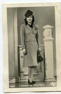 Deanna Durbin Movie Star Actress Cinema Kino Ross Small Card - Schauspieler