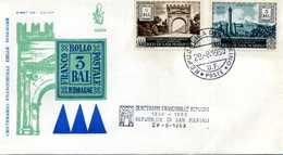 1959 SAN MARINO FDC Centenario Fr. Romagne - FDC