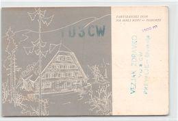 QSL Cards - YU3CW - YU 3 CW - Yugoslavia - Prevalje - Slovenija  - 1957 - Radio Amateur