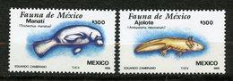 Mexique, Yvert 1223&1224**, Scott 1533&1534**, MNH - Messico