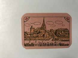 Allemagne Notgeld Dannenberg 10 Pfennig - Collezioni
