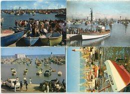 LOT 8 CPSM 10 X 15 * ILE D'OLÉRON La Cotinière Le Port Retour De Pêche (Cottinière Sur Certaines) - Ile D'Oléron