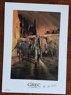 Ex-Libris - LE GREC De Al COUTELIS, CABANES - Numéroté Et Signé. 2006. ETAT NEUF - Illustrateurs A - C