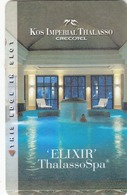 GREECE Hotel Keycard - KOS IMPERIAL THALASSO GRECOTEL, Used - Chiavi Elettroniche Di Alberghi
