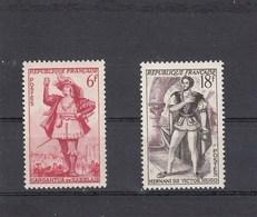 France - 1953 - N° YT 943/44** - Théâtre Français - Francia