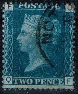 Grande-Bretagne - 1858 - Y&T N° 27, Planche 14, Oblitéré - 1840-1901 (Viktoria)