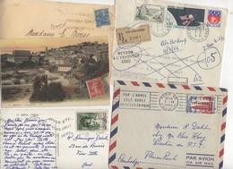 10 Lettres Et Cartes + 1 Cadeau Prix De Départ Sans Réserve 1€ Voir 2 Scan.  Bonnes Enchère     Lot Delc Vente 3, 8 - Marcophilie (Lettres)