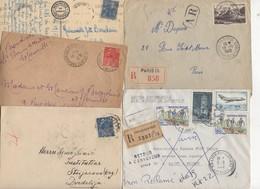 10 Lettres Et Cartes + 1 Cadeau Prix De Départ Sans Réserve 1€ Voir 2 Scan.  Bonnes Enchère     Lot Delc Vente 3, 9 - Marcophilie (Lettres)