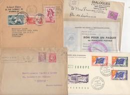 10 Lettres Et Cartes + 1 Cadeau Prix De Départ Sans Réserve 1€ Voir 2 Scan.  Bonnes Enchère     Lot Delc Vente 3, 11 - Marcophilie (Lettres)