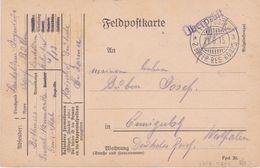 1916 Germany Western Front, France Censored Field Post 2. Bayer Res. Korps Cover - Otros