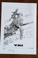Ex-libris - YIU Premieres Missions De VAX Et VEE - Numéroté Et Signé. 2003. TBE - Illustrateurs S - V
