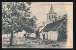 LAETHEM ST MARTIN  L'EGLISE ET LA FERME DU TEMPELHOF -   A.SUGG 60 N / 3 - Sint-Martens-Latem