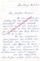 Brief Geschreven Door Operazangeres Rita Gorr In 1956 - Autographes