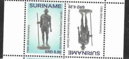 SURINAME, 2019, MNH,GANDHI, 2v - Mahatma Gandhi