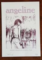 Ex-libris - ANGELINE Par BLONDEAU, SUMMER, FINO - Numéroté Et Signé. 2006. NEUF - Illustrateurs S - V