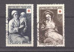 0ob 0123  -  France  :  Yv  966-67  (o) - Usati