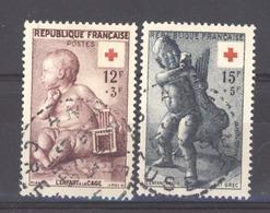 0ob  022  -  France   :  Yv  1048-49   (o) - Usati