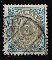 Dänemark 1875,Michel# 22 IYBb - Usati