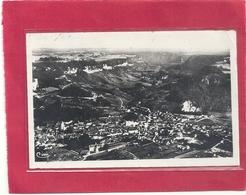 Cpsm Format Cpa . POLIGNY A VOL D'OISEAU . Carte Affr Au Verso Le 31.3.1947 . 2 Scanes - Poligny
