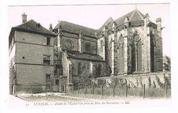 CPA (70) Luxeuil.  Abside De L'église Vue Prise Du Parc Du Séminaire.   TTB. (M.523). - Luxeuil Les Bains