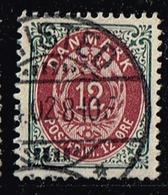 Dänemark 1875,Michel# 26 IYBb O - Usati