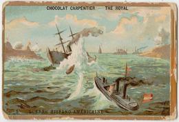 CHROMO GAUFFRE -  CHOCOLAT CARPENTIER GUERRE  - HISPANO-AMERICAINE - Other