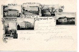 HEINERSDORF An Der Tafelfichte/JINDRICHOVICE Pod Smrkem, Böhmen, Okres Liberec, Gemeindeamt, Volksschule - Czech Republic