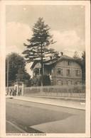 CPA Schirmeck SANATORIUM VILLA DR. WORINGER 1914 - Schirmeck