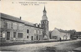 VIREUX-WALLERAND. L'Eglise Et La Mairie. - France