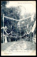 Cpa Du 44  Prieuré De Pontchateau -- Procession De La Fête Dieu 21 Juin 1903  LZ98 - Pontchâteau