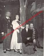 Mariane Balhant, Raymond Rossius, Gita Nobis, Frans De Guise - Opera La Boheme - Gent 1956 - Photo 9x11,5cm - Photos