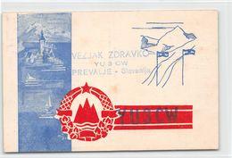 QSL Cards - YU3CW.- YU 3 CW - Yugoslavia  - Prevalje - Slovenija -à Vezjak Zdravko - Radio Amatoriale