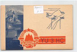 QSL Cards - YU3HC- YU 3 HC - Yugoslavia  - Slovenija - - Radio Amatoriale