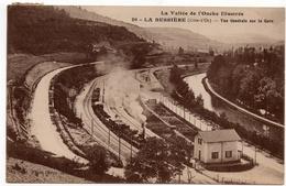 La Bussière (Labussière) Sur Ouche : Vue Générale De La Gare (cliché Rimet, N°20 - Louys Et Bauer, Dijon) - Autres Communes