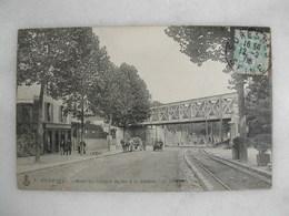 SURESNES - Pont Du Chemin De Fer à La Station (animée) - Suresnes