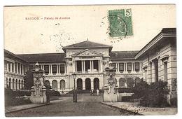 VIET NAM - SAIGON - Hô Chi Minh-Ville - Palais De Justice - Ed. Ciollection G. WIRTH, Saigon - Vietnam