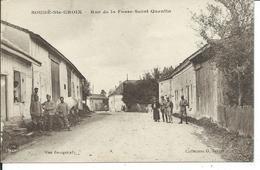 Soudé-Ste-Croix-Rue De La Fosse Saint-Quentin - France