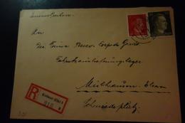 Lettre De COLMAR 1943 - Marcofilia (sobres)