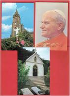 COREE DU SUD 1984 LOT 5 CARTES POSTALES VISITE DU PAPE JEAN PAUL II - Korea (Zuid)