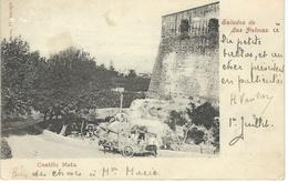 Espagne - Spain - Saludos De LAS PALMAS - Castillo Mata - Courrier De 1909 - La Palma