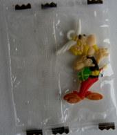 RARE FIGURINE MEDAILLON ASTERIX ZAINI 2014 ASTERIX CONTENT DE LUI - Asterix & Obelix