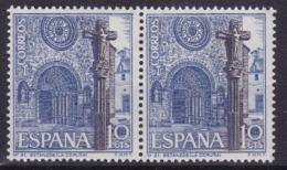 Spanien: 1967** Mi: 1692.Romanisches Eingangsportal Der Kirche San Francisco In Betanzos.la Coruña - Abbayes & Monastères