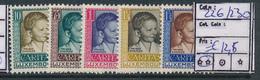 LUXEMBOURG PRIFIX 226/230 MNH - Nuevos